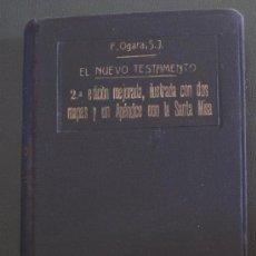 Libros antiguos: EL NUEVO TESTAMENTO - EDICION : 1922.. Lote 38609906