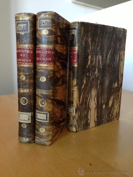 1829.- COLECCION DE OBRAS CONTRA LA INCREDULIDAD Y ERRORES DE ESTOS ULTIMOS TIEMPOS. GRAN ENCUADERNA (Libros Antiguos, Raros y Curiosos - Religión)