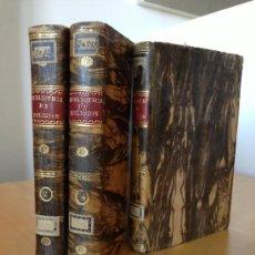 Libros antiguos: 1829.- COLECCION DE OBRAS CONTRA LA INCREDULIDAD Y ERRORES DE ESTOS ULTIMOS TIEMPOS. GRAN ENCUADERNA. Lote 38817358