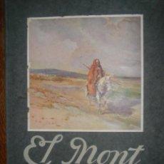 Libros antiguos: EL MONT NEBÓ. BIBLIA DE MONTSSERRAT.SERIE B. Nº3. 1928. Lote 39069334