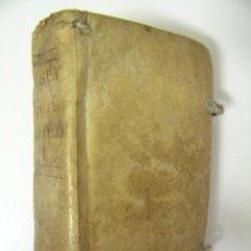 Libros antiguos: DISCURSOS ESPIRITUALES TOMO PRIMERO,JUAN CROISET,1758, TERESA PIFERRE, PERGAMINO REF ANTG 1800 BS1. Lote 39363418