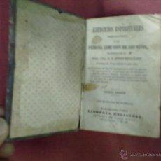 Libros antiguos: ANTONIO MARIA CLARET EJERCICIOS ESPIRITUALES PREPARATORIOS A LA 1ª COMUNION DE LOS NIÑOS 1862. Lote 39640037