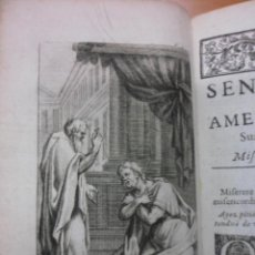 Libros antiguos: SENTIMENS DÚNE AME PENITENTE, 1709, MADAME D`ALNUOY. CONTIENE 1 FRONTISPICIO Y NUEVE GRABADOS.. Lote 39704968
