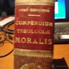 Libros antiguos: COMPENDIUM THEOLOGIAE MORALIS 1902. Lote 39668734