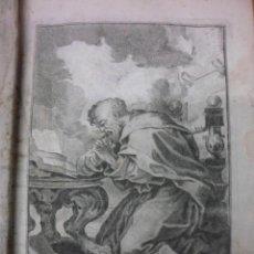 Libros antiguos: LES CONFESSIONS DE SAN AGUSTIN, 1716, MONFIEUR DU BOIS. CONTIENE 1 FRONTISPICIO Y 8 GRABADOS. Lote 39950889