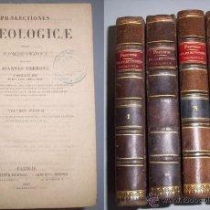 Alte Bücher - PERRONE, Joannes. Praelectiones Theologicae quas in collegio Romano S.J. - 40220870