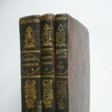 Libros antiguos: BIBLIOTECA PREDICABLE. CUATRO TOMOS -FELIX LAZARO GARCIA-IMPRENTA DE TOMAS AGUADO. 1846, 1847 Y 1848. Lote 40582584