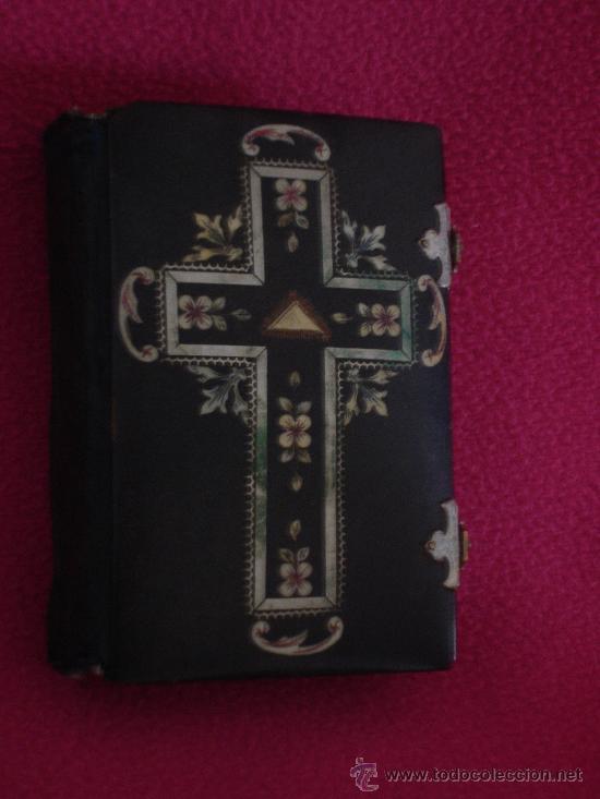 Libros antiguos: DEVOCIONARIO CATOLICO DE 1882 - Foto 2 - 41215546