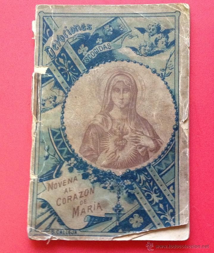 NOVENA AL CORAZON DE MARIA S. CALLEJA (Libros Antiguos, Raros y Curiosos - Religión)