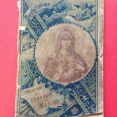 Libros antiguos: NOVENA AL CORAZON DE MARIA S. CALLEJA . Lote 41313770