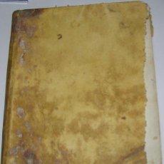Libros antiguos: LIBRO TAPAS PERGAMINO, AÑO 1778. SERMONES DEL P. NICOLAS GALLO. IMPRESO EN MADRID. Lote 41367681