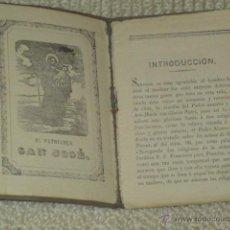 Libros antiguos: NOVENA DEL GLORIOSO PATRIARCA SAN JOSÉ ESPOSO DE MARÍA SANTÍSIMA. VALLADOLID 1891. Lote 197296627
