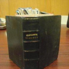Libros antiguos: BREVIARIUM ROMANUM EX DECRETO SACROSANCTI CONCILII TRIDENTINI RESTITUTUM S PII V . Lote 41456558