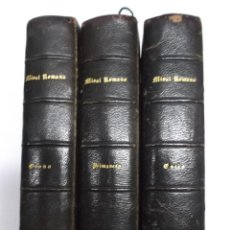 Libros antiguos: NOVISIMO MISAL ROMANO ESPAÑOL, 1875, 3 TOMOS (ESTÍO PRIMAVERA OTOÑO). PIEL, ANGEL PEREZ, F. CALVO. Lote 41806881