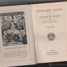 Libros antiguos: MISSAL DE SETMANA SANTA ( CATALA ) 1930. Lote 42145222
