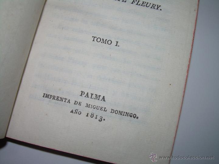 Libros antiguos: DISCURSOS...POR FLEURY......AÑO...1.813...TRES TOMOS DE TAPAS DE PIEL. - Foto 3 - 42227886