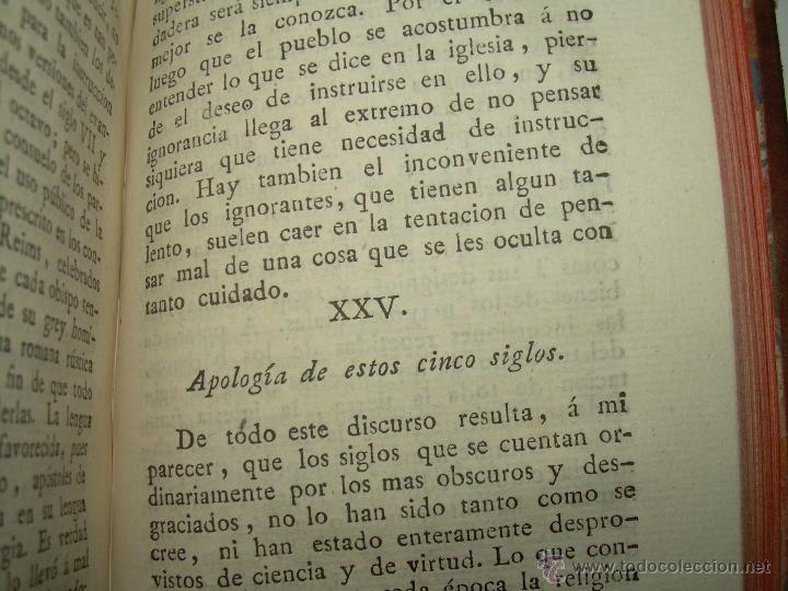 Libros antiguos: DISCURSOS...POR FLEURY......AÑO...1.813...TRES TOMOS DE TAPAS DE PIEL. - Foto 8 - 42227886
