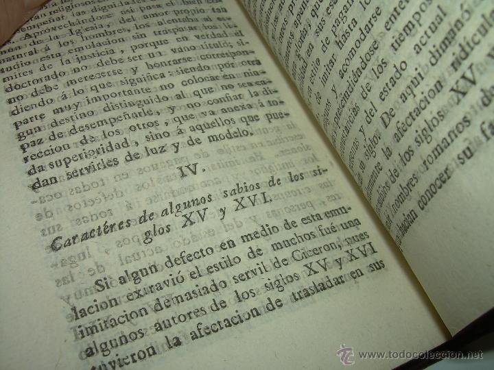 Libros antiguos: DISCURSOS...POR FLEURY......AÑO...1.813...TRES TOMOS DE TAPAS DE PIEL. - Foto 9 - 42227886