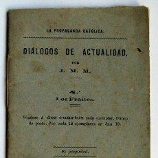 Libros antiguos: LA PROPAGANDA CATOLICA PALENCIA 1879. Lote 42292046