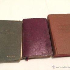 Libros antiguos: LOTE DE 3 ANTIGUOS LIBROS RELIGIOSOS. Lote 42377650