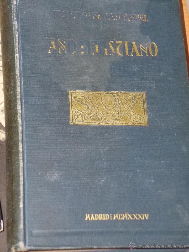 Libros antiguos: AÑO CRISTIANO. 5 TOMOS (OBRA COMPLETA). - Foto 2 - 42432603