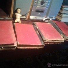 Libros antiguos: REVISTA EL MENSAJERO DEL CORAZON DE JESUS ENERO JULIO 1893 ENERO JULIO 1895 JULIO 1896 5 LIBROS. Lote 42508771
