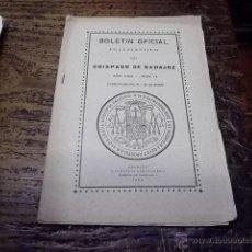 Libros antiguos: 3256.- BOLETIN OFICIAL ECLESIASTICO DEL OBISPADO DE BADAJOZ-AÑO 1924 Nº 18. Lote 42650295