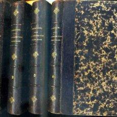 Libros antiguos: R. P. ALPHONSE RODRIGUEZ : PRACTIQUE DE LA PERFECTION CHRETIENNE (1884) CUATRO TOMOS, EN FRANCÉS. Lote 42675940