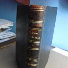 Libros antiguos: 1853 TRIUNFO DE LA VERDAD EN JUSTA DEFENSA DE LA CONCEPCION SIN MANCHA DE MARIA T I. Lote 42680845