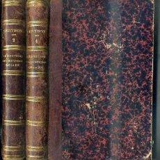 Libros antiguos: MEDITACIONS SUR LES MYSTERES DE LA FOI (1859) DOS TOMOS - EN FRANCÉS. Lote 42681912