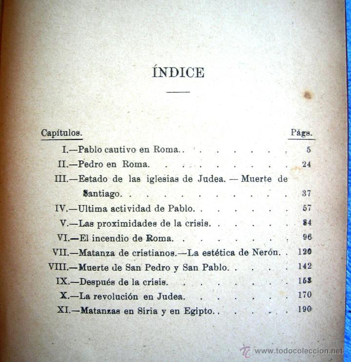 Libros antiguos: EL ANTICRISTO - ERNESTO RENAN. TOMO I. EDIT. SEMPERE, COL. ARTE Y LIBERTAD, EN VALENCIA. 1920 ?. - Foto 7 - 42779855