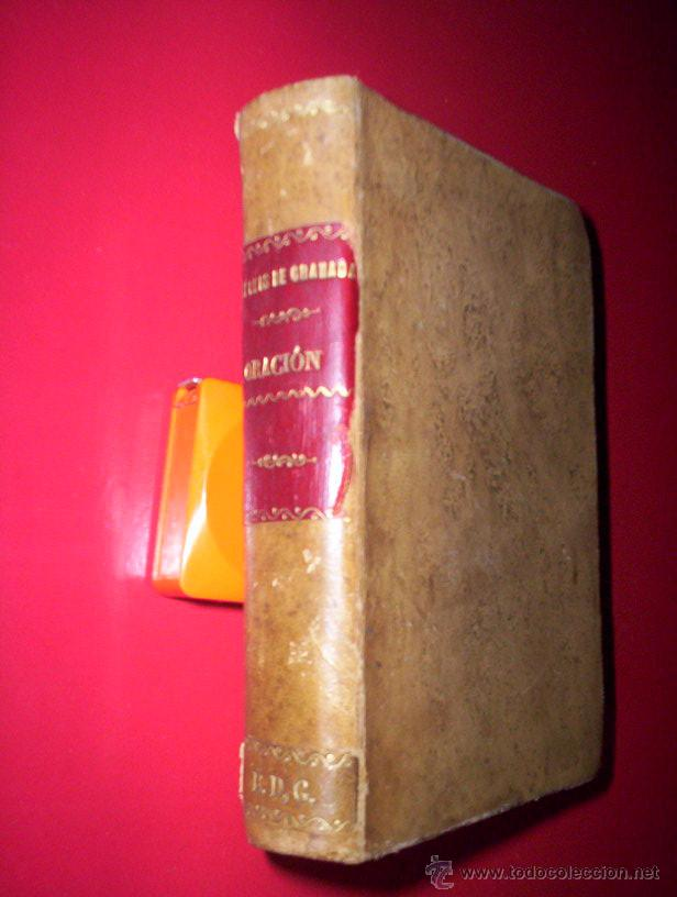 Libros antiguos: religion fr luis de granada libro de oracion y meditacion madrid segovia espinosa 1802 grabados piel - Foto 4 - 43198175