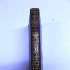 Libros antiguos: OFFICIUM IN FESTO OMNIUM SANCTORUM, OFFICIUM DEFUNCTORUM, 1803, 3 GRABADOS, TEXTO LATIN, PIEL, 9X16C. Lote 43727354
