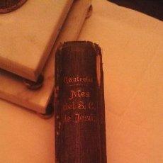 Libros antiguos: NUEVO MES DEL SAGRADO CORAZON DE JESUS. Lote 43872358