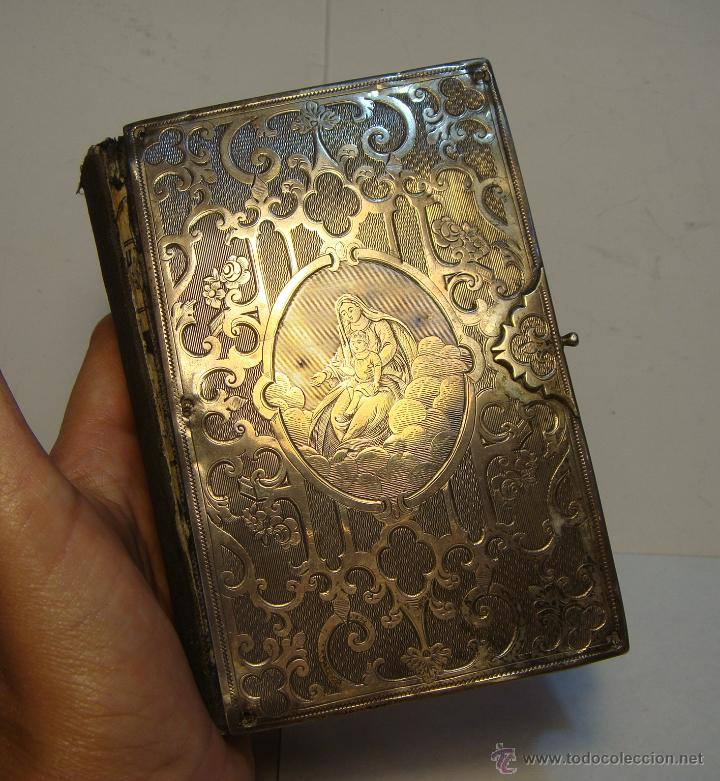 Excepcional libro religioso 1873 con grabados comprar - Libros antiguos valor ...