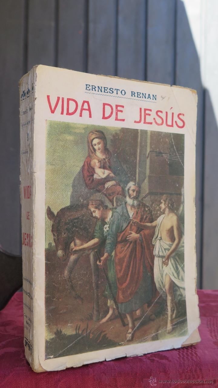 190?.- VIDA DE JESUS. ERNESTO RENAN (Libros Antiguos, Raros y Curiosos - Religión)