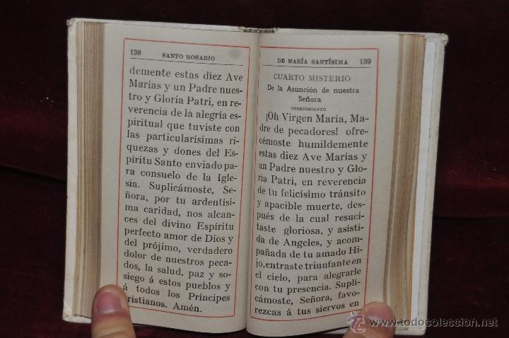 Libros antiguos: DESTELLOS DEL AMOR DIVINO. DEVOCIONARIO DEL AÑO 1912. ED. LLORENS HERMANOS - Foto 5 - 44464762