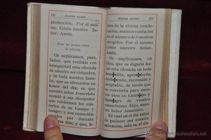 Libros antiguos: DESTELLOS DEL AMOR DIVINO. DEVOCIONARIO DEL AÑO 1912. ED. LLORENS HERMANOS - Foto 7 - 44464762