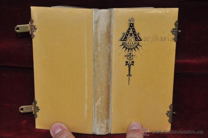 DEVOCIONARIO COMPLETO DEL AÑO 1897. ED. LLORENS HERMANOS (Libros Antiguos, Raros y Curiosos - Religión)