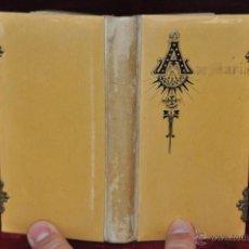Libros antiguos: DEVOCIONARIO COMPLETO DEL AÑO 1897. ED. LLORENS HERMANOS. Lote 44465105