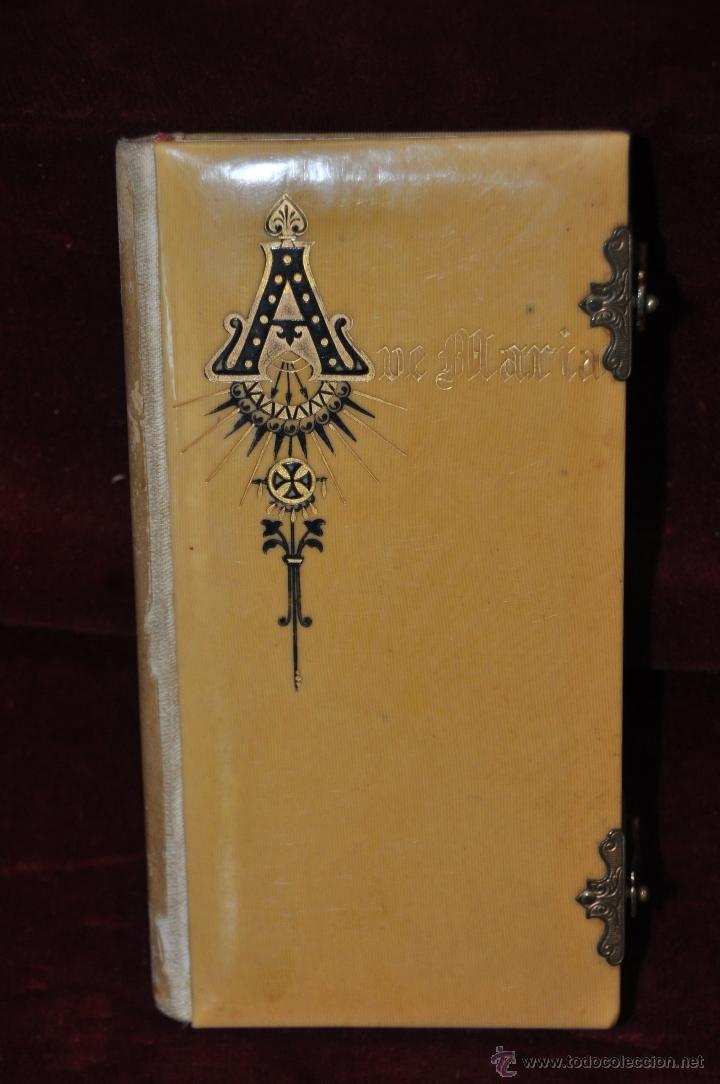 Libros antiguos: DEVOCIONARIO COMPLETO DEL AÑO 1897. ED. LLORENS HERMANOS - Foto 2 - 44465105