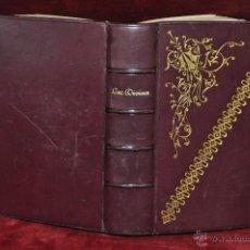 Libros antiguos: LUZ DIVINA. LUJOSO DEVOCIONARIO COMPLETO DE APROXIMADAMENTE 1900. Lote 44465175