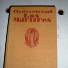 Libros antiguos: LOS MARTIRES, 1925. Lote 45060684