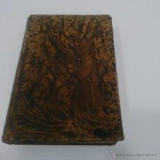 Libros antiguos: ANTIGUO LIBRO TAPAS DE PIEL Y PASTA ESPAÑOLA - CAMINO DEL CIELO AÑO 1.866. Lote 45096170