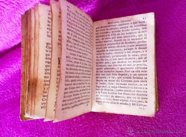 Libros antiguos: EPITOME DE LA ADMIRABLE VIDA DE LA V. M. SOR ANGELA MARGARITA SERAFINA, JUAN FOGUERES 1743 - Foto 3 - 45213925