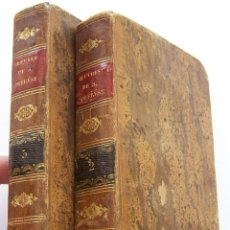 Libros antiguos: LYON 1818 OBRAS DE SANTA TERESA EN FRANCES 2 VOLUMENES BELLAMENTE ENCUADERNADOS. Lote 45251297