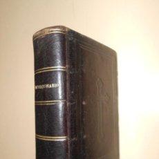 Libros antiguos: DEVOCIONARIO***DE LAVALLE ABREVIADO AÑO 1880***ORACIONES SANTO SACRIFICIO DE LA MISA. Lote 45675819