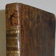 Libros antiguos: TRONCOSO, JUAN. BIBLIOTECA COMPLETA DE ORATORIA SAGRADA... TOMO III. 1845. Lote 45871244