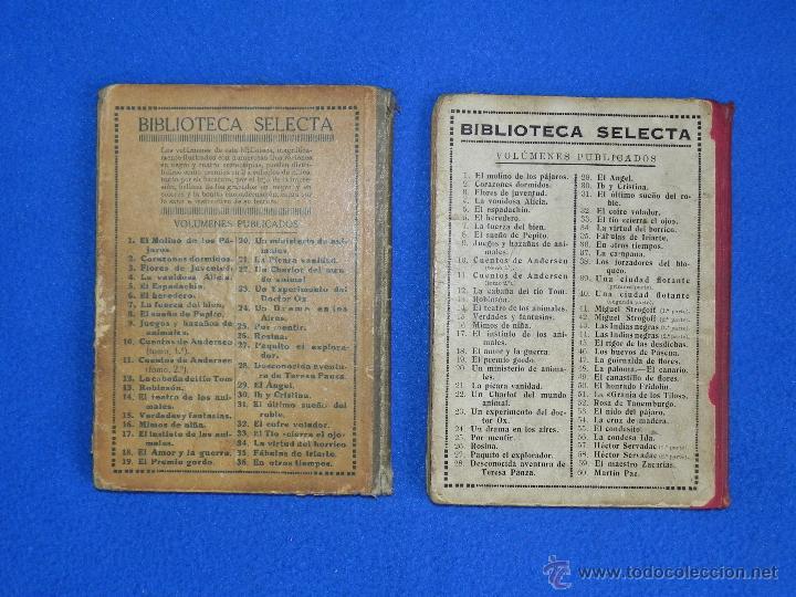 Libros antiguos: *LA CONDESA IDA -- EL CONDESITO*. DOS LIBROS DE BIBLIOTECA SELECTA. AÑO 1926 - Foto 4 - 46220154