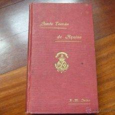 Libros antiguos: SANTO TOMÁS DE AQUINO COLEGIO DOMINICOS VERGARA CON PARTITURA HIMNO ESCUELAS CRISTIANAS. Lote 46378072
